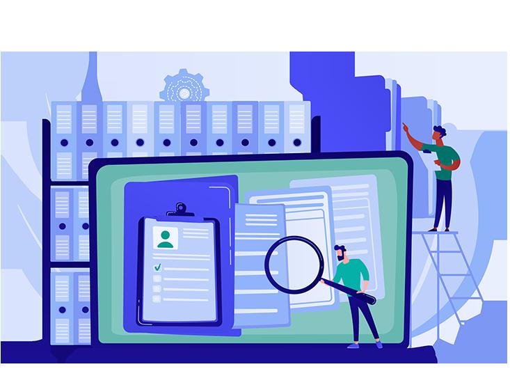 بایگانی در نرم افزار مدیریت قراردادها درگاه